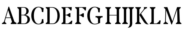 Rikiar regular Font UPPERCASE