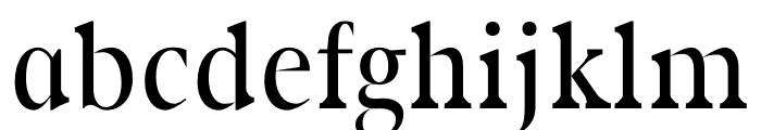 Rikiar regular Font LOWERCASE