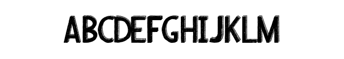 Riscada-black Font LOWERCASE
