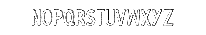 Riscada-white Font LOWERCASE