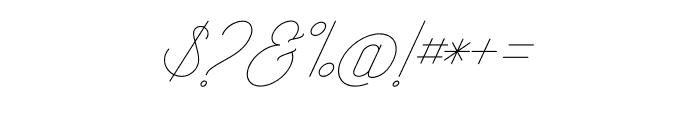 RisingStar-Light Font OTHER CHARS
