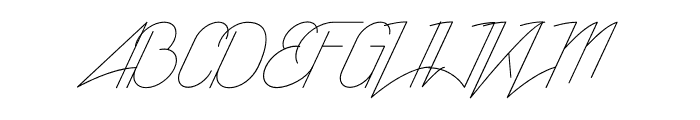 RisingStar-Light Font UPPERCASE