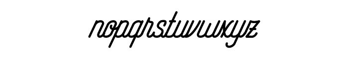 RisingStar Font LOWERCASE