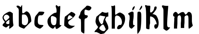 RisingSun Font LOWERCASE