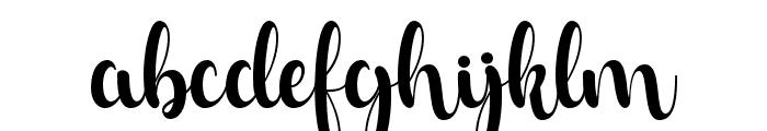 Risol Script Regular Font LOWERCASE