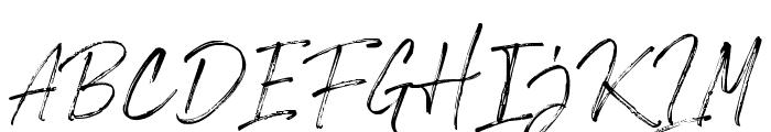 RiverstyleFont Font UPPERCASE