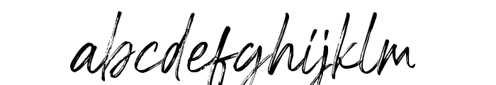 RiverstyleFont Font LOWERCASE