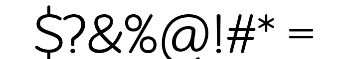 Robaga Rounded Light Font OTHER CHARS