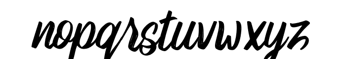 Robert Buso Font LOWERCASE