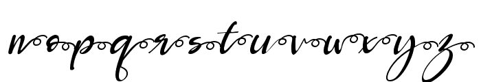 Roberto salt-swash Italic Font LOWERCASE