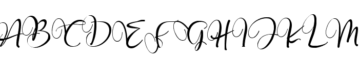 Roberto salt-swash Font UPPERCASE