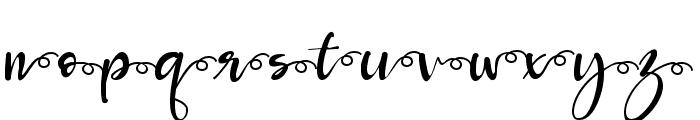 Roberto salt-swash Font LOWERCASE