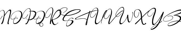 Robertosaltswash-Italic Font UPPERCASE