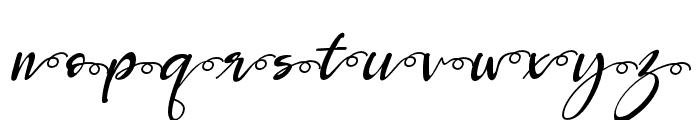 Robertosaltswash-Italic Font LOWERCASE