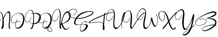Robertosaltswash Font UPPERCASE