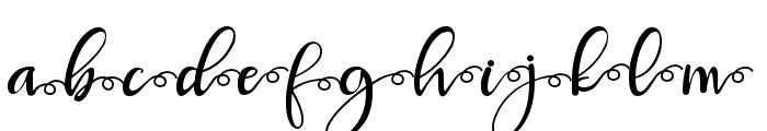 Robertosaltswash Font LOWERCASE
