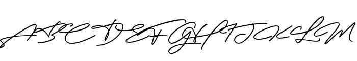 Robertson Alternate Font UPPERCASE