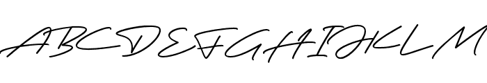 Robertson Font UPPERCASE