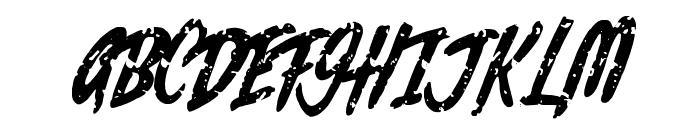 Rochesten Brush Font UPPERCASE