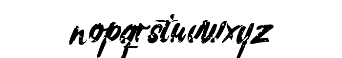 Rochesten Brush Font LOWERCASE