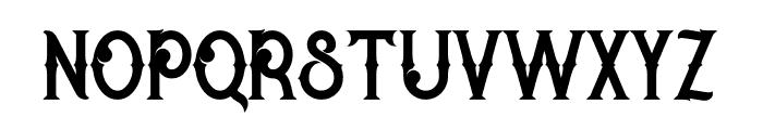 Rocket 2 Regular Font LOWERCASE