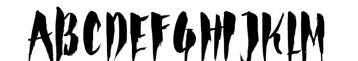 RocketUp Font UPPERCASE