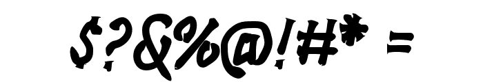 Rockmasta-Bold Font OTHER CHARS