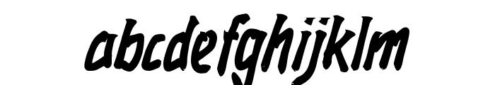 Rockmasta-Bold Font LOWERCASE