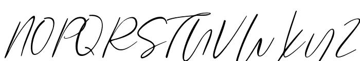Rodetta Rossie Font UPPERCASE