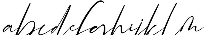 Rodetta Rossie Font LOWERCASE