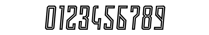Roguedash Italic Line Font OTHER CHARS