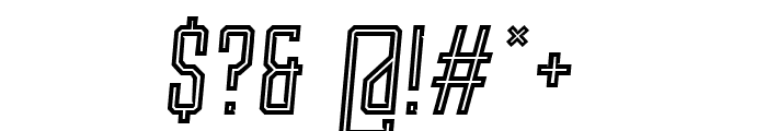 Roguedash-ItalicLine Font OTHER CHARS