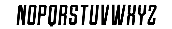 Roguedash-ItalicSolid Font LOWERCASE