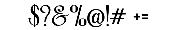 Roller Coaster Font OTHER CHARS