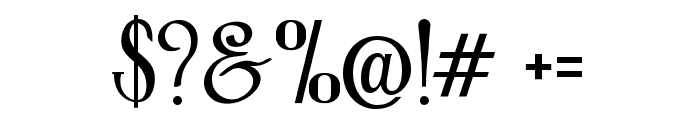 RollerCoaster Font OTHER CHARS