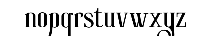 RollerCoaster Font LOWERCASE