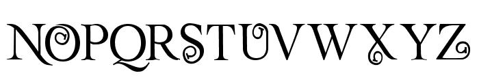 Rollex II Font UPPERCASE