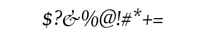 RollexIIItalic-Italic Font OTHER CHARS