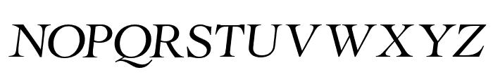 RollexIIItalic-Italic Font LOWERCASE