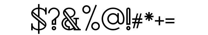 Rollfast Font OTHER CHARS