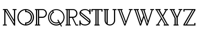 Rollfast Font UPPERCASE