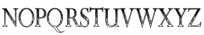 Roman Flames Font UPPERCASE
