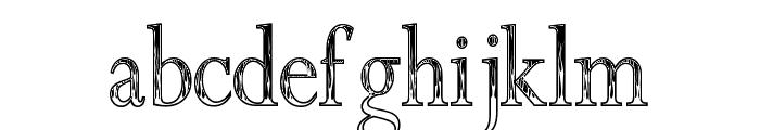 Roman Flames Font LOWERCASE