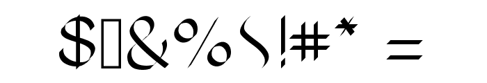 RomanClassic Font OTHER CHARS