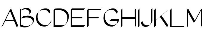 RomanClassic Font UPPERCASE