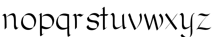 RomanClassic Font LOWERCASE
