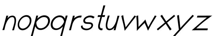 Romanilo Bold Italic Font LOWERCASE