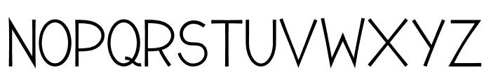 Romanilo Bold Font UPPERCASE