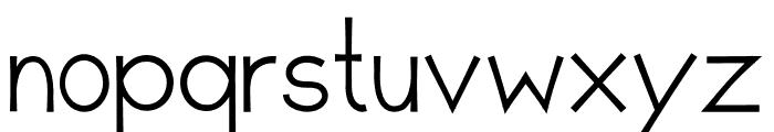 Romanilo Bold Font LOWERCASE