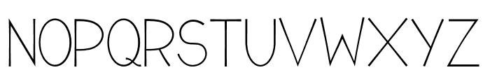 Romanilo Font UPPERCASE